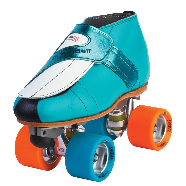 Riedell 911 Jammer Jam Roller Skates 2018