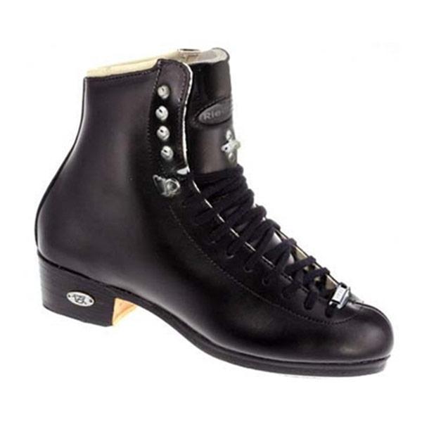 Riedell Black 87J TS Boys Figure Skate Boots