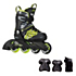 K2 SK8 Hero X Pro Boys Inline Skates with Flash Plus Jr Pads
