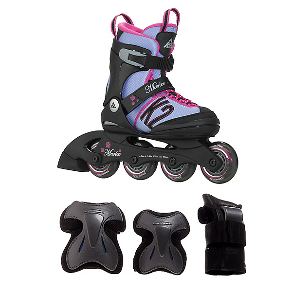 Marlee Girls Inline Skate with Pads, , 600