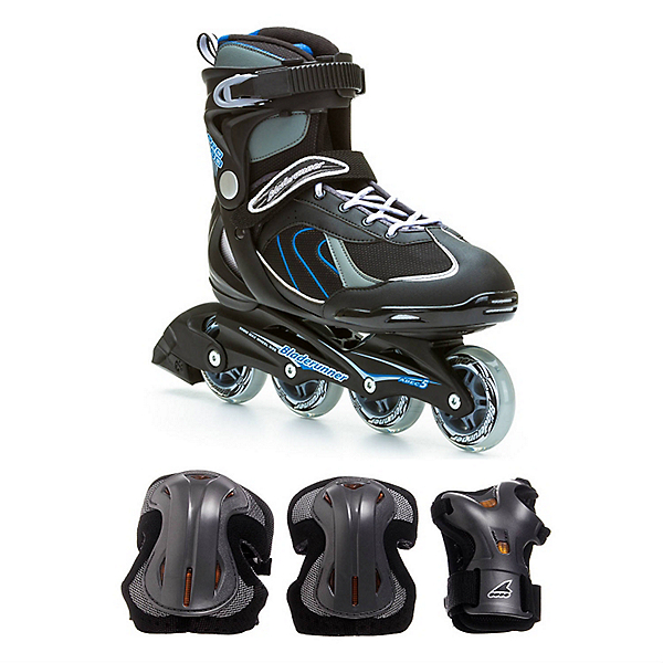 Pro 80 Mens Inline Skate with Pads, , 600