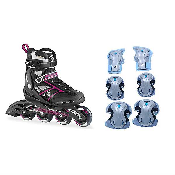 Zetrablade Womens Inline Skates with Pads, , 600
