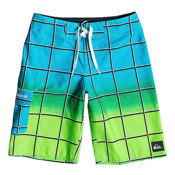 Quiksilver Electric Colors Boys Bathing Suit, , 600
