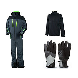 Obermeyer Fast Jacket & Obermeyer Quantum Pant Mens Outfit, , 256