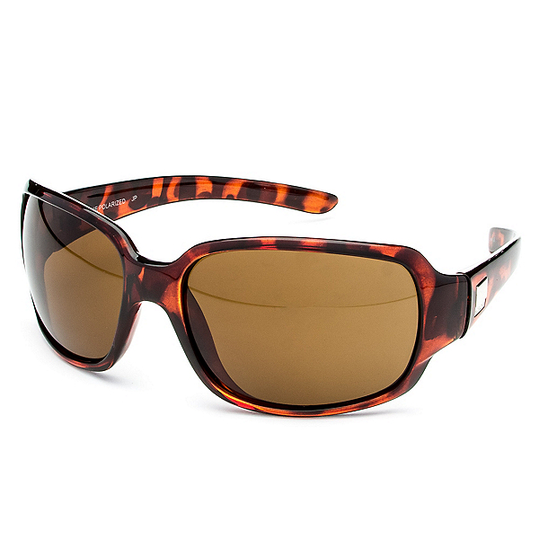 SunCloud Cookie Polarized Sunglasses, Tortoise-Brown Polarized, 600