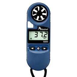 Kestrel 1000 Pocket Wind Meter, Blue, 256