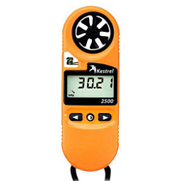 Kestrel 2500 Pocket Weather Meter, Orange, 256