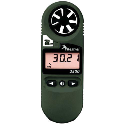 Kestrel 2500NV Pocket Weather Meter im test