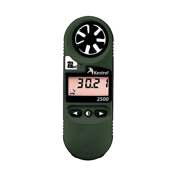 Kestrel 2500NV Pocket Weather Meter, Olive Drab, 600