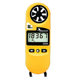 Kestrel 3500 Pocket Weather Meter, Yellow, 256