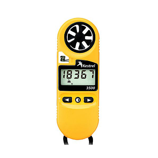 Kestrel 3500 Pocket Weather Meter, Yellow, 600