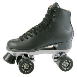 Pacer Super X Plus Boys Artistic Roller Skates, Black, 256