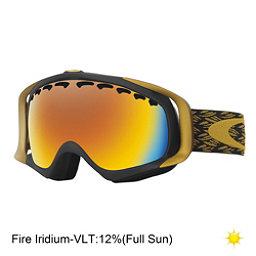 Oakley Crowbar Goggles, Er Mimic Knit Burnished-Fire I, 256