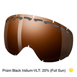 Oakley Crowbar Goggle Replacement Lens, Prizm Black Iridium, 256