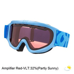 Scott Jr Tracer Kids Goggles, Powder Blue W-Amp Lens, 256