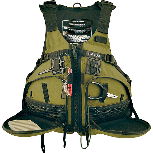 Stohlquist Fisherman Fishing Kayak Life Jacket 2017, Cactus, 600