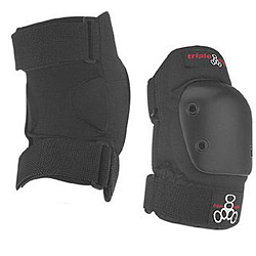 Triple 8 EP55 Elbow Pad - Senior, Black, 256