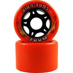 Sure Grip International Zoom Roller Skate Wheels - 8 Pack, Orange, 256