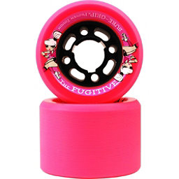 Sure Grip International Fugitive Roller Skate Wheels - 8 Pack, Pink, 256
