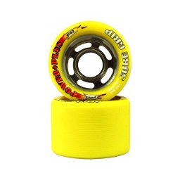 Sure Grip International Power Plus Roller Skate Wheels - 8 Pack, Yellow, 256