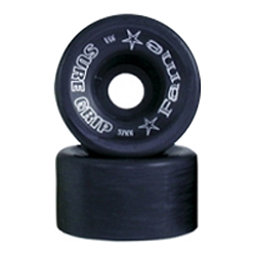 Sure Grip International Fame Roller Skate Wheels - 8 Pack, Black, 256