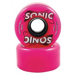 Hyper Sonic Roller Skate Wheels - 8 Pack, Pink, 256