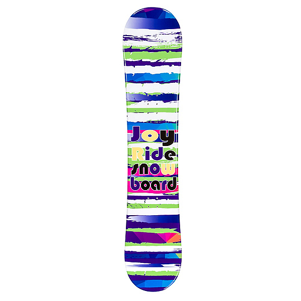 JoyRide Stripes Purple Rocker Girls Snowboard, , 600