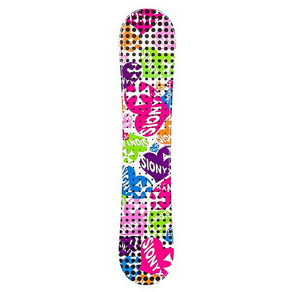 Sionyx Hearts White S Girls Snowboard, , 600