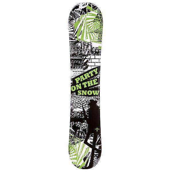 SLQ Awesome Green Boys Snowboard, , 600