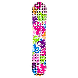 Sionyx Hearts White Girls Snowboard, , 256
