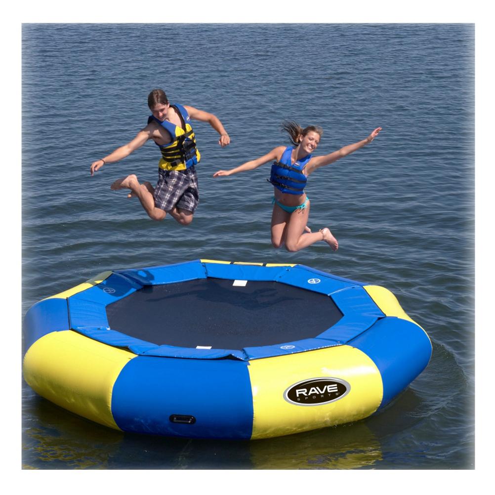 Rave Aqua Jump Eclipse 120 12 Foot Water Trampoline