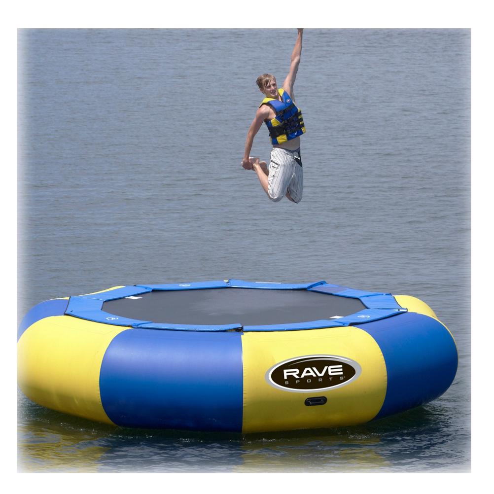 Rave Aqua Jump Eclipse 150 15 Foot Water Trampoline