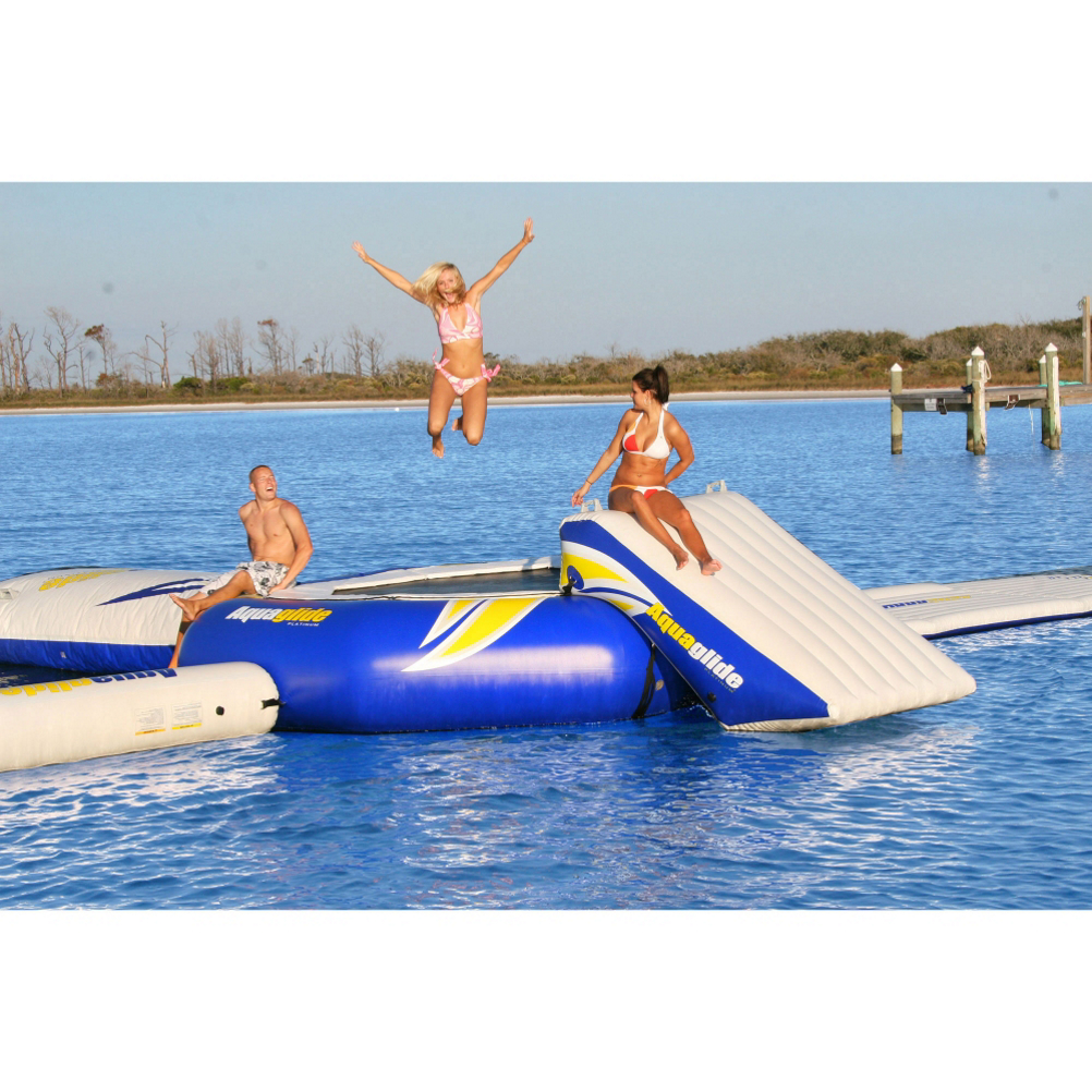 Image of Aquaglide Platinum SuperTramp 14 Foot Water Trampoline