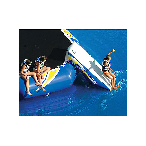 Aquaglide Platinum Rebound 16 Bouncer Slide Water Trampoline Attachment, , 600