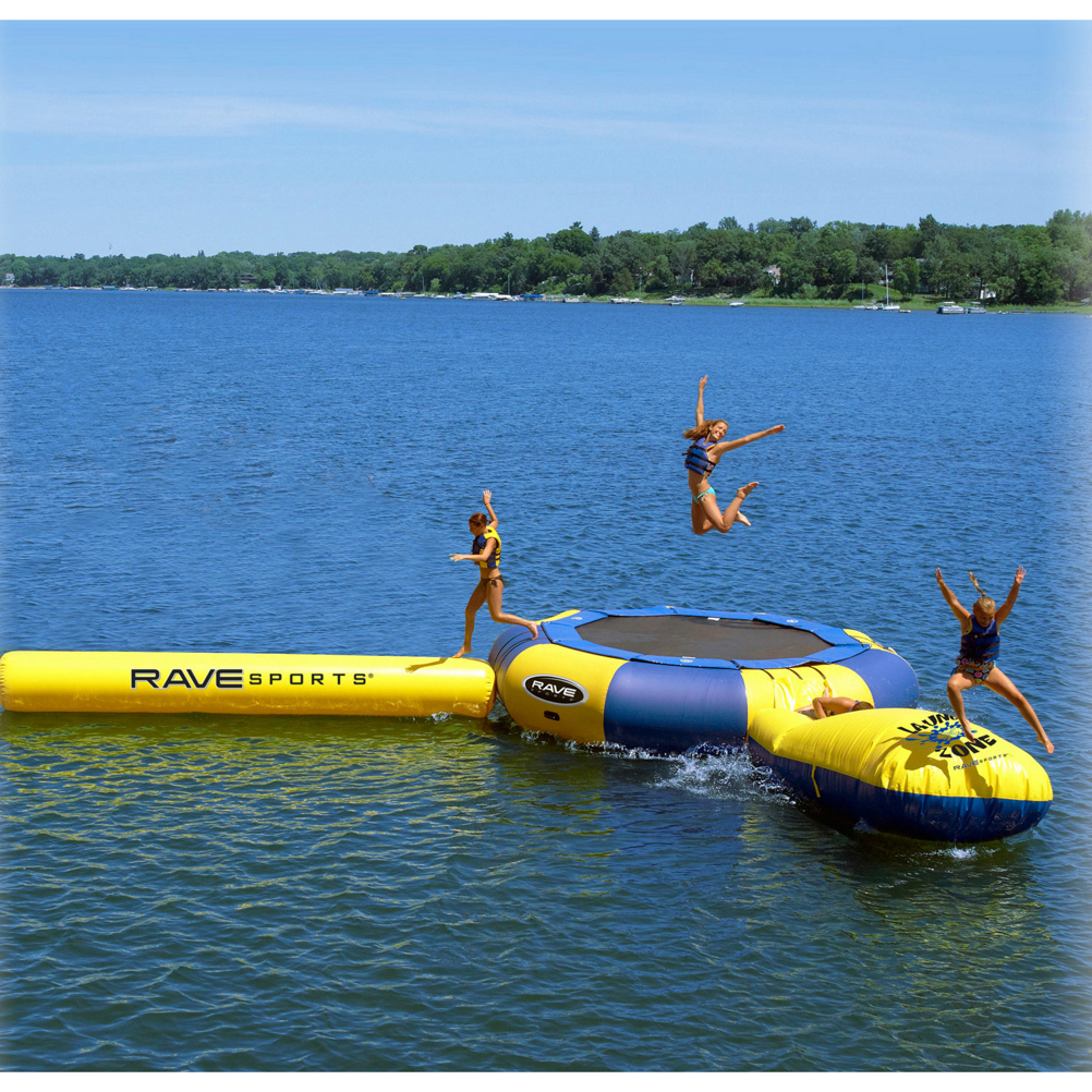 Rave Aqua Jump Eclipse 200 Trampoline and Waterpark