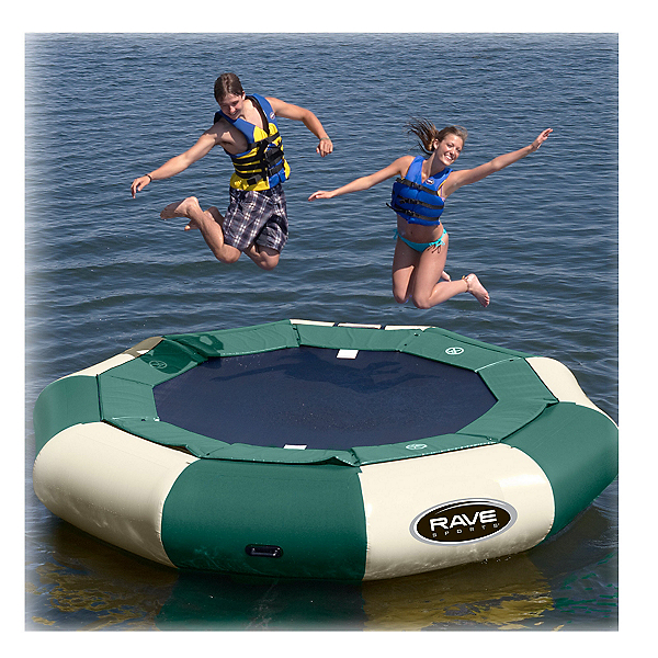 Rave Aqua Jump Eclipse 120 Northwoods Edition Water Trampoline, , 600
