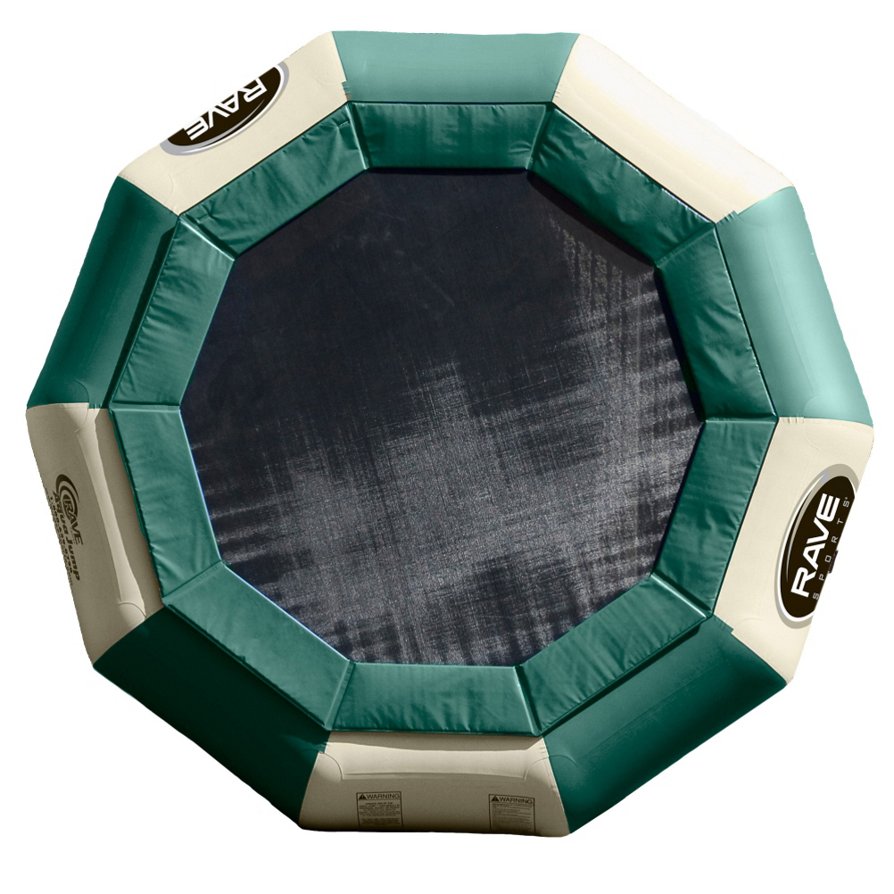 Rave Aqua Jump Eclipse 150 15 Foot Northwoods Edition Water Trampoline