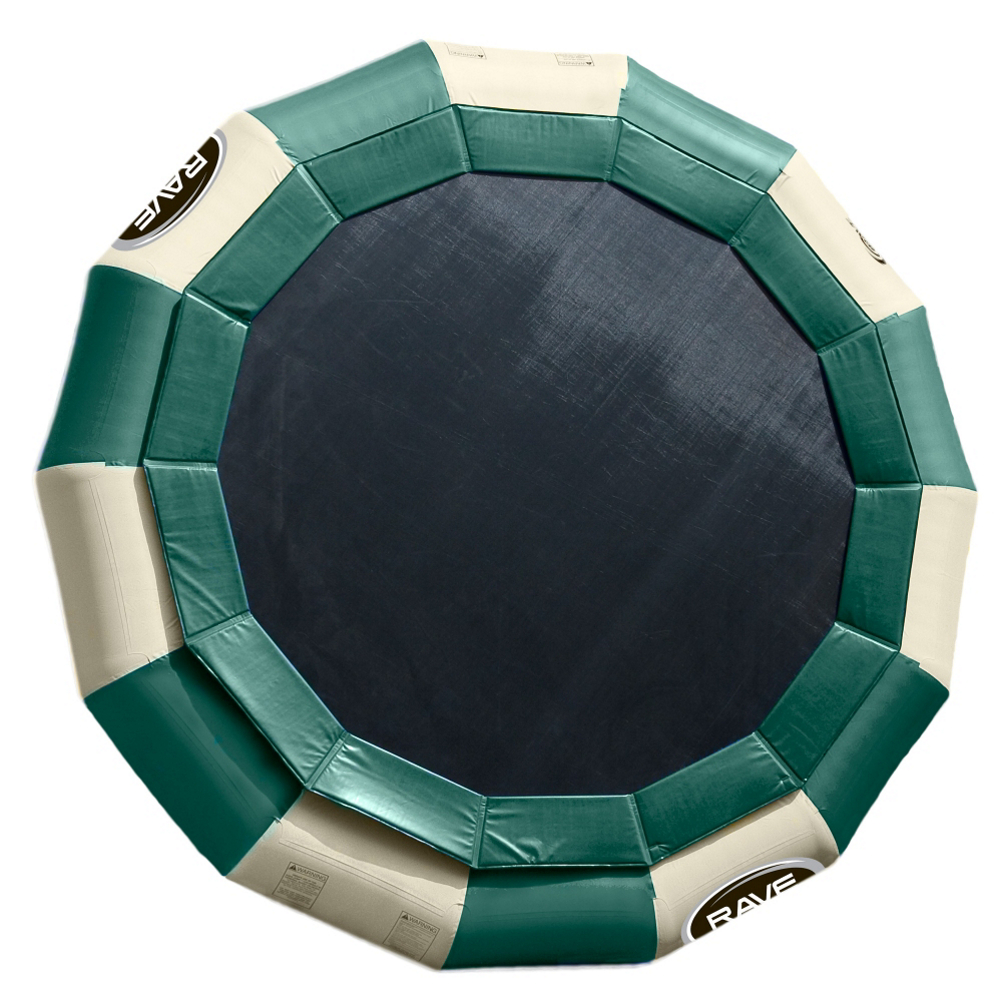 Rave Aqua Jump Eclipse 200 Northwoods Edition Water Trampoline
