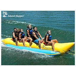Island Hopper Recreational Banana Boat 5 Passenger Towable Tube 2017, , 256