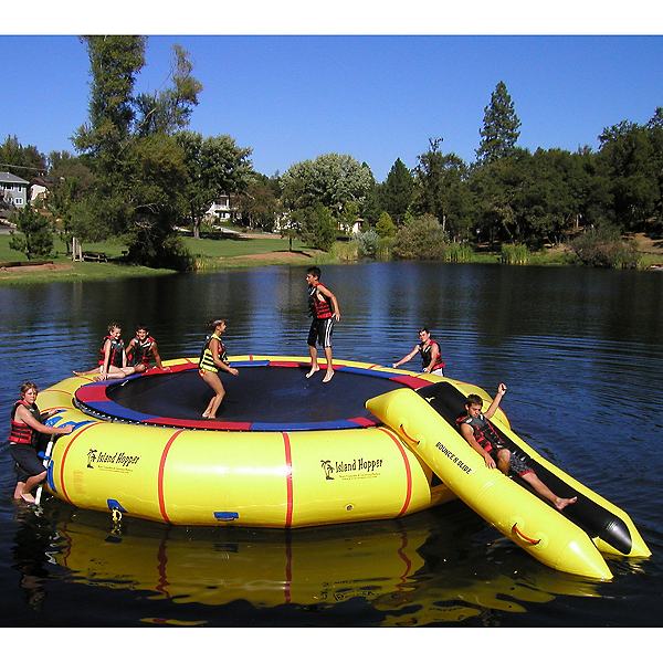 Island Hopper Giant Jump 25 Foot Water Trampoline, , 600