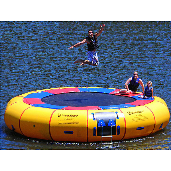 Island Hopper Acrobat 20 Foot Water Trampoline, , 600