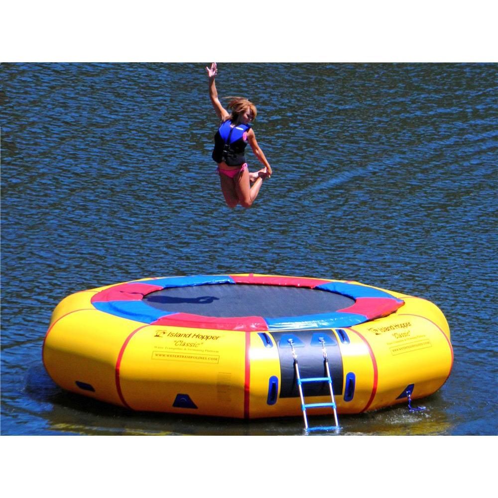 Island Hopper Classic 15 Foot Water Trampoline im test