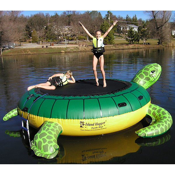 Island Hopper Turtle Hop 11 Foot Bounce Platform, , 600