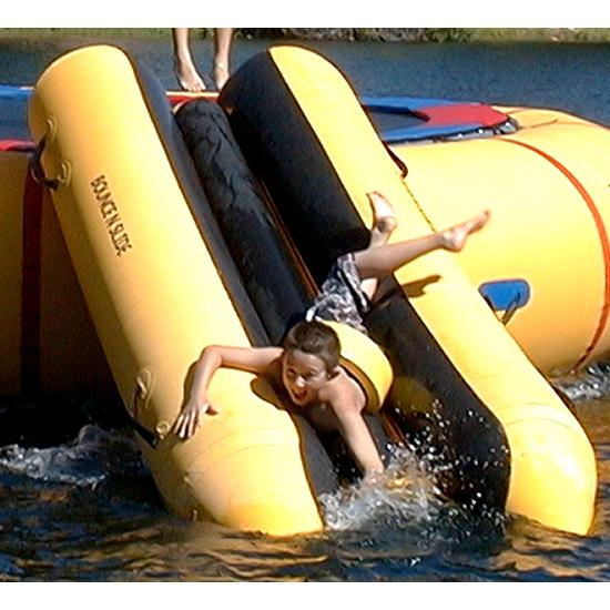 Island Hopper Bounce N Slide Water Slide Water Trampoline Attachment im test