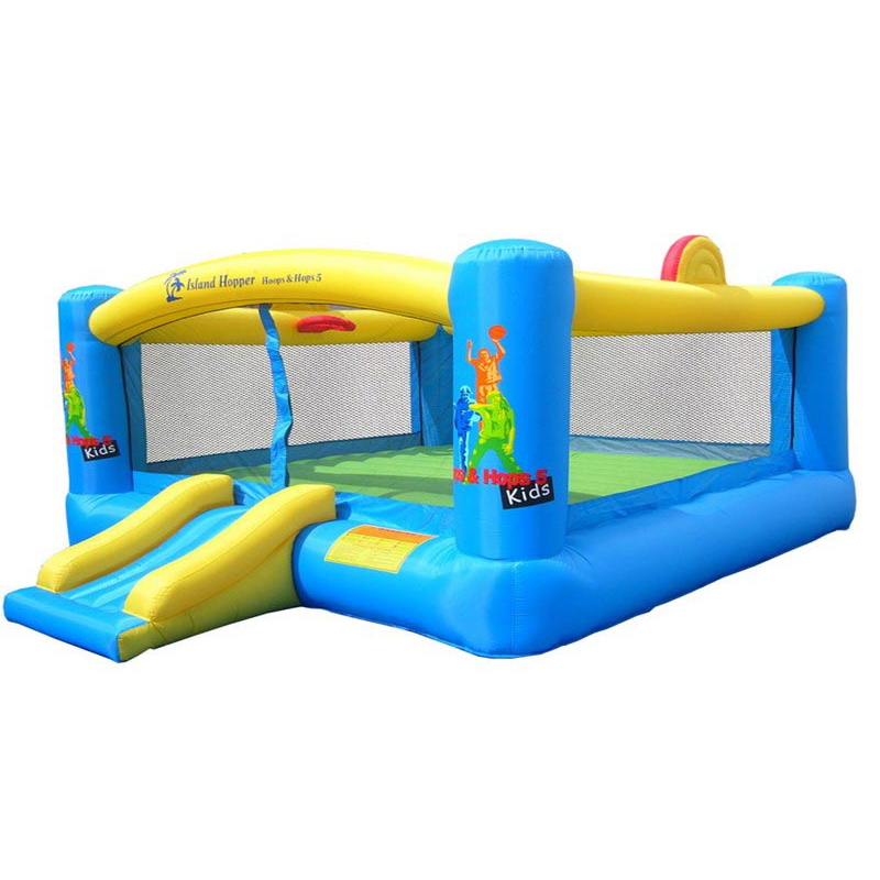 Island Hopper Hoops-N-Hops 5 Bounce House im test