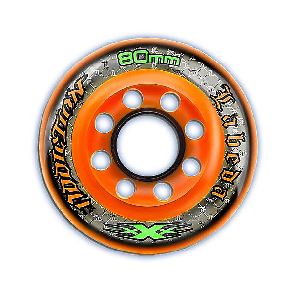 Labeda Addiction XXX 225 Indoor Inline Hockey Skate Wheels - 4 Pack, , 600