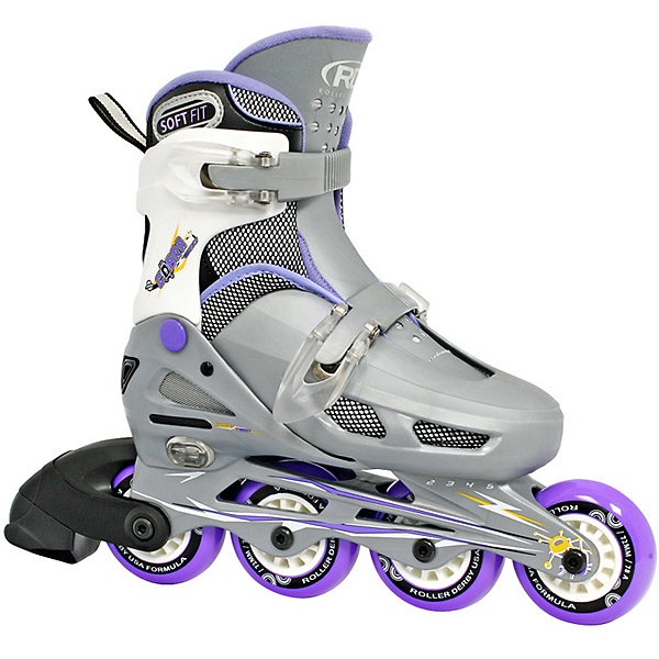 Roller Derby Cobra Adjustable Girls Inline Skates, , 600