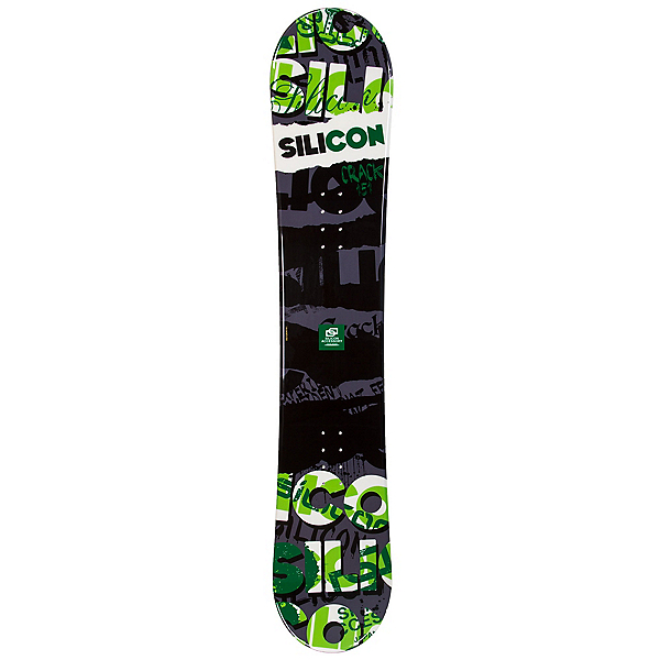 Silicon Crack Green Snowboard, , 600
