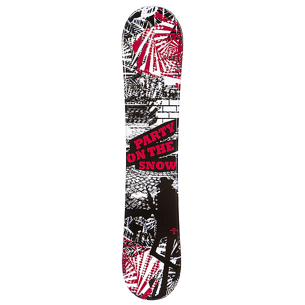SLQ Awesome Red Boys Snowboard, , 600