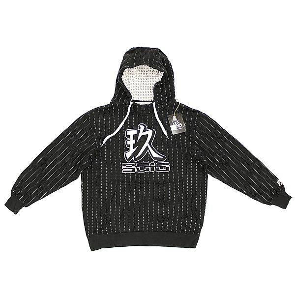 9010 New Pin Stripe Snowboard Ski Hoodie Sweatshirt Mens, , 600